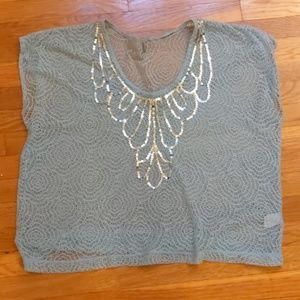 Charlotte Russe lacey top